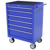 George Tools gereedschapswagen 6 laden blauw
