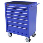 George Tools gereedschapswagen 7 laden blauw