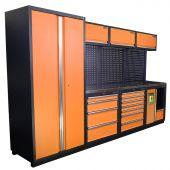 Kraftmeister Werkplaatsinrichting Halifax RVS Nextgen Oranje