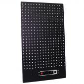 Kraftmeister gereedschapswand met stopcontact Standard zwart