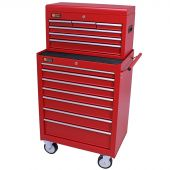 George Tools roller cabinet with tool chest 13 drawers anthracite