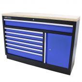 Kraftmeister gereedschapsladekast XL Multiplex Standard blauw