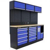 Kraftmeister werkplaatsinrichting Maryland Multiplex blauw