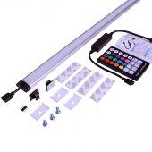 Kleuren LED lamp voor gereedschapswand roldeur Pro 120 cm
