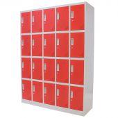 Kraftmeister Locker 20 deuren rood