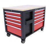 Kraftmeister gereedschapswagen XL Multiplex Standard rood