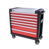 George Tools gereedschapswagen gevuld Redline 38 Premium - 154 delig
