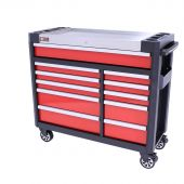 George Tools gereedschapswagen gevuld Redline 44 Premium - 154 delig